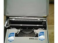 Old typewriter collectable Manuel