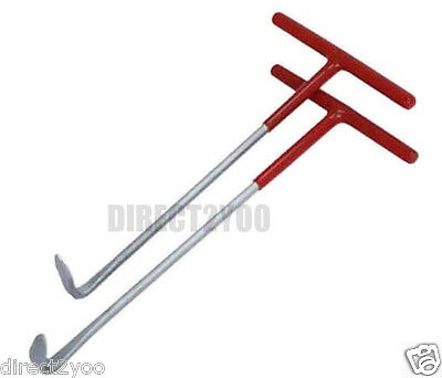 Neilsen 2pc Exhaust Rubber Ring Puller Tool Set Fitting Removal Installation