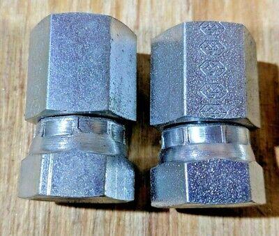 "6801-06-05 Hydraulic Fitting 3//8/"" Male JIC Swivel X 5//16/"" Male O-Ring 90° C5515"