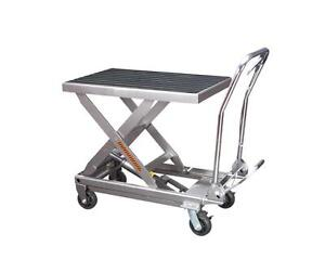 HOC  -  1000 LBS POUNDS HYDRAULIC TABLE CART + FREE SHIPPING + 90 DAY WARRANTY