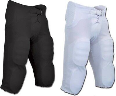 614118cc Champro Integrated Built-in Pads YOUTH Football Pants, Black Or White, FPCY