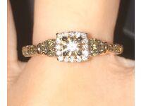 Le Vian 14ct Strawberry Gold Chocolate Diamond Ring
