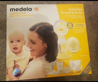 BNIB Medela Swing Flex And Save Breast Pump rrp £144.99