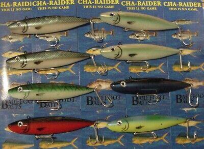 Sebile Bonga Minnow Treble Hook 3//8oz Saltwater//Freshwater NOS FAST Shipping