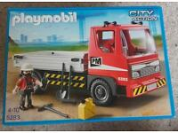 Playmobil Flat Bed Truck 5283 - New