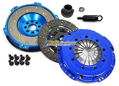 FX PERFORMANCE RACING CLUTCH KIT+ALUMINUM FLYWHEEL for 01-06 BMW M3 E46 3.2L S54 3.2 Performance Clutch