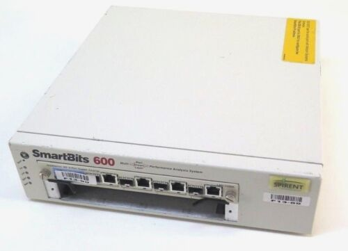 Spirent SmartBits 600 Performance Analysis SMB-0600 w/ LAN-3325A