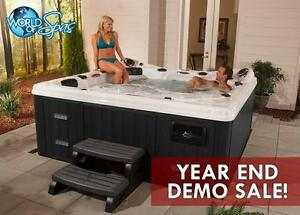 Don't Let This Cold Weather Get You Down! Warm Up The Holidays With A New Hot Tub From World Of Spas!!
