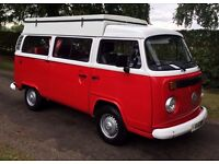 Flourishing VW T2 Camper Van Hire Business East Midlands £12,500