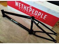 "BRAND NEW WeThePeople Dawn 21.1"" RRP£280 Boxed and unused bmx bike frame"