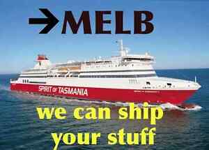 Need stuff shipped from TASMANIA - MELBOURNE? We have space! Richmond Yarra Area Preview