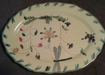 "Libellule ""Romancing Provence"" Collection Ovate Serving Platter"