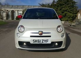 2011 Abarth 500 1.4 T-Jet 70k miles Cambelt done at Abarth dealership Cheapest in the UK!!!