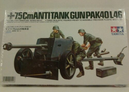 35047 1/35 German 75mm Anti-Tank Gun - Tamiya - 049503449954