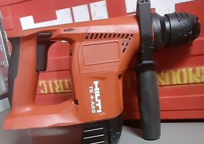 21.8v Hilti Te 4-a22 Sds Rotary Hammer Drill. In Very Good Working Condition