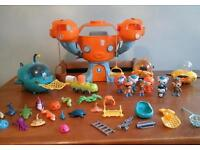 Large octonauts toy bundle