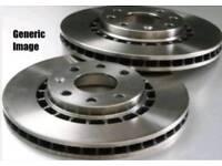 Rav4 Front brake ventilated disks, pair