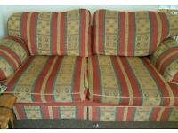 3 Seater Sofa & Arm Chair