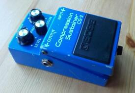 Boss CS2 Japan 1983 Compression / Sustainer Vintage guitar effects pedal MIJ Compressor