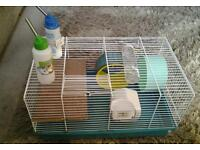 Ferplast hamster cage with accessories