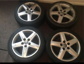 5 STUD ALLOY WHEELS