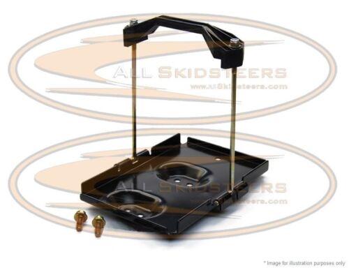 For Bobcat 863 873 Battery Tray Hold Down Kit Bracket Skid Steer Loader Pan