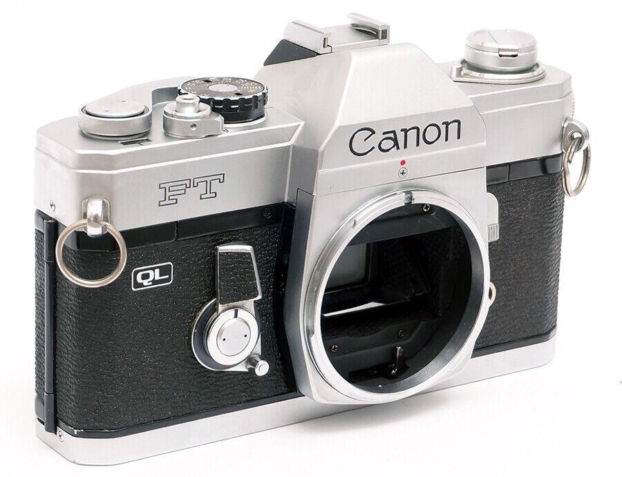CANON FT QL SPIEGELREFLEX KAMERA FD MOUNT ANALOG 35MM FILMKAMERA / FTb VORGÄNGER