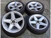 "BMW AC Schnitzer 17"" Alloys x4 - MUST SEE ONLY £135!"