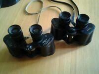 Two pairs binoculars.