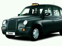 Hackney taxi night shift east end