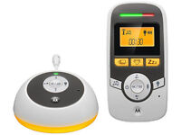 Motorola Digital Audio Baby Monitor- MBP161