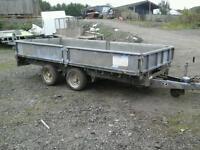 Ifor williams dropside trailer 12x5.6 no vat