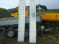 Ifor williams trailer alloy trailer raps 8 ft no vat
