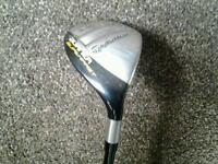 Taylormade Burner Superfast Rescue wood 3, 18 degree, Taylor made 5 wood golf club