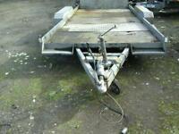 Indespenson tilt bed car tranporter 16x7 noo vat