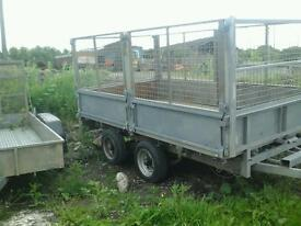 Ifor williams dropside trailer with meash sides 10x5.6 no vat