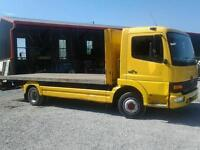 For sale mercedes atego 7.5 ton 20'flat