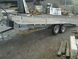 Indespenson tilt bed car tranporter 16x7 no vat