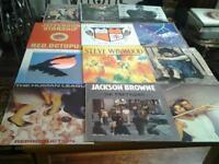 Mixed Lot of Twelve Record Albums