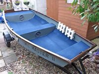 10ft Aluminium/Fishing Boat and Trailer for Sale