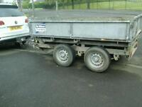 Ifor williams electric tipping trailer 88x5 no vat
