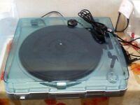 Prolectrix USB turntable; convert vinyl to MP3