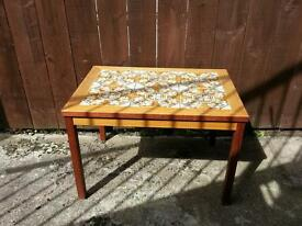 70s tiled coffee table