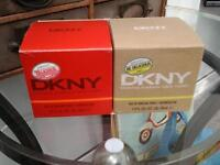 Dkny twin pack perfumes 30 ml be + red delicious