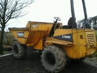 Thwaties artic ster 6 ton dumper no vat