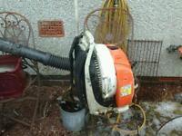 Still back pack blower bv 450no vat