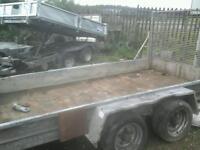 Beatson plant trailer 10x6 carrie 3500 no vat