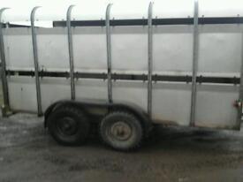 Ifor williams llive stock trailer 12x6 no vat