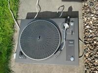Vintage garrard dd 130-1 turntable / record player