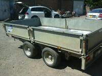 Ifor Williams drop side trailer 10x5.6 no vat